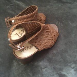 Sam Edelman Shoes - GUC Sam Eldeman tan shoes.